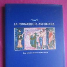 Libros de segunda mano: LA MONARQUIA ASTURIANA RUIZ DE LA PEÑA MUY ILUSTRADO. Lote 207136340