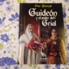 Libros de segunda mano: GUIDEON Y EL PODER DEL GRIAL. Lote 207270286