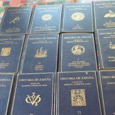 Libros de segunda mano: HISTORIA DE ESPAÑA TOMOS COMPLETOS MANUEL TUÑON DE LARA PRPM. Lote 207422707