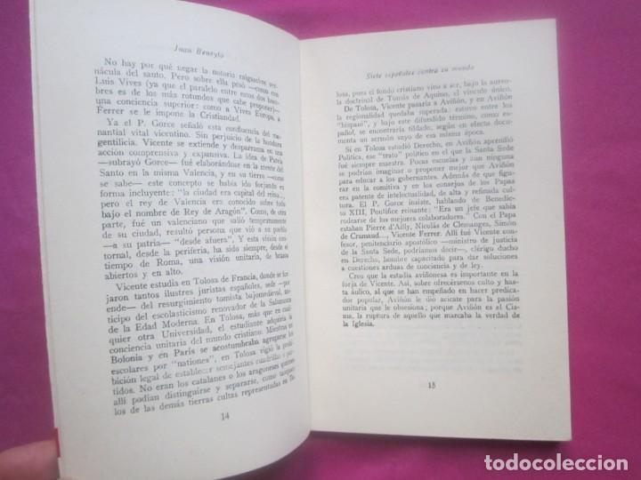 Libros de segunda mano: SIETE ESPAÑOLES CONTRA EL MUNDO BENEYTO E. MONTEJURRA 1958 - Foto 2 - 207444267