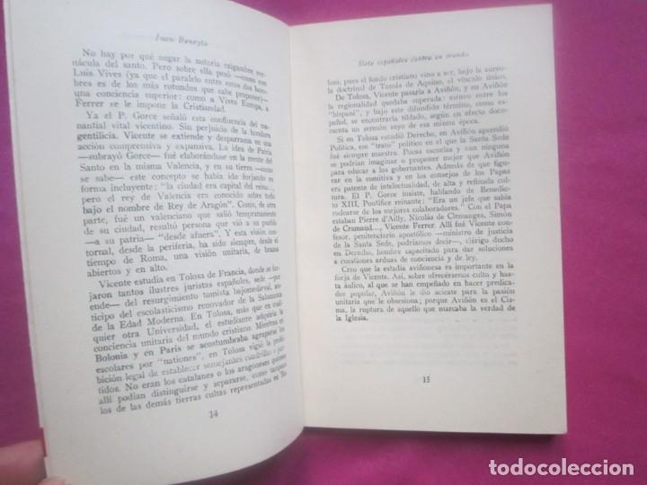 Libros de segunda mano: SIETE ESPAÑOLES CONTRA EL MUNDO BENEYTO E. MONTEJURRA 1958 - Foto 3 - 207444267