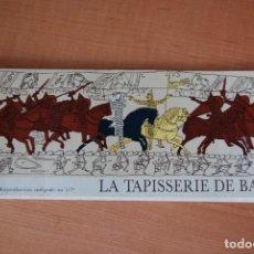 Libros de segunda mano: LA TAPISSERIE DE BAYEUX. TAPIZ DE BAYEUX. Lote 208764241