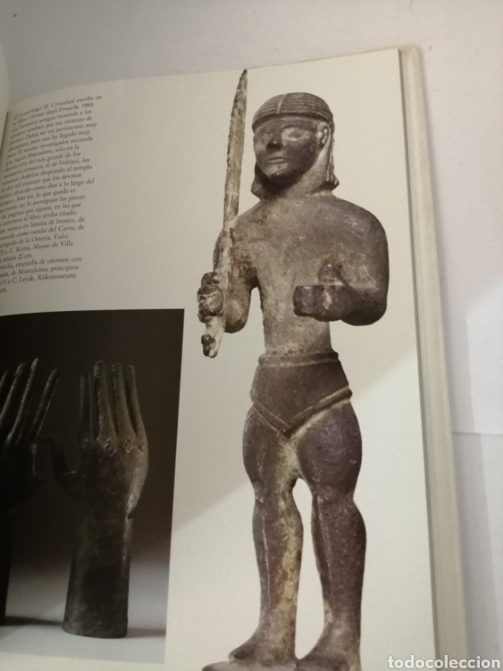 Libros de segunda mano: Etruscos, esplendor de una civilización: frescos, oros, bronces, vasos - Foto 3 - 208950543