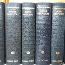 Libros de segunda mano: OBRAS COMPLETAS PLAZA & JANÉS W.SOMERSETMAUGHAM. Lote 209207940