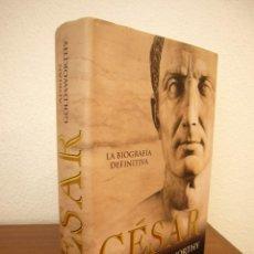 Libros de segunda mano: ADRIAN GOLDSWORTHY: CÉSAR. LA BIOGRAFÍA DEFINITIVA (LA ESFERA DE LOS LIBROS) TAPA DURA. COMO NUEVO.. Lote 209855787