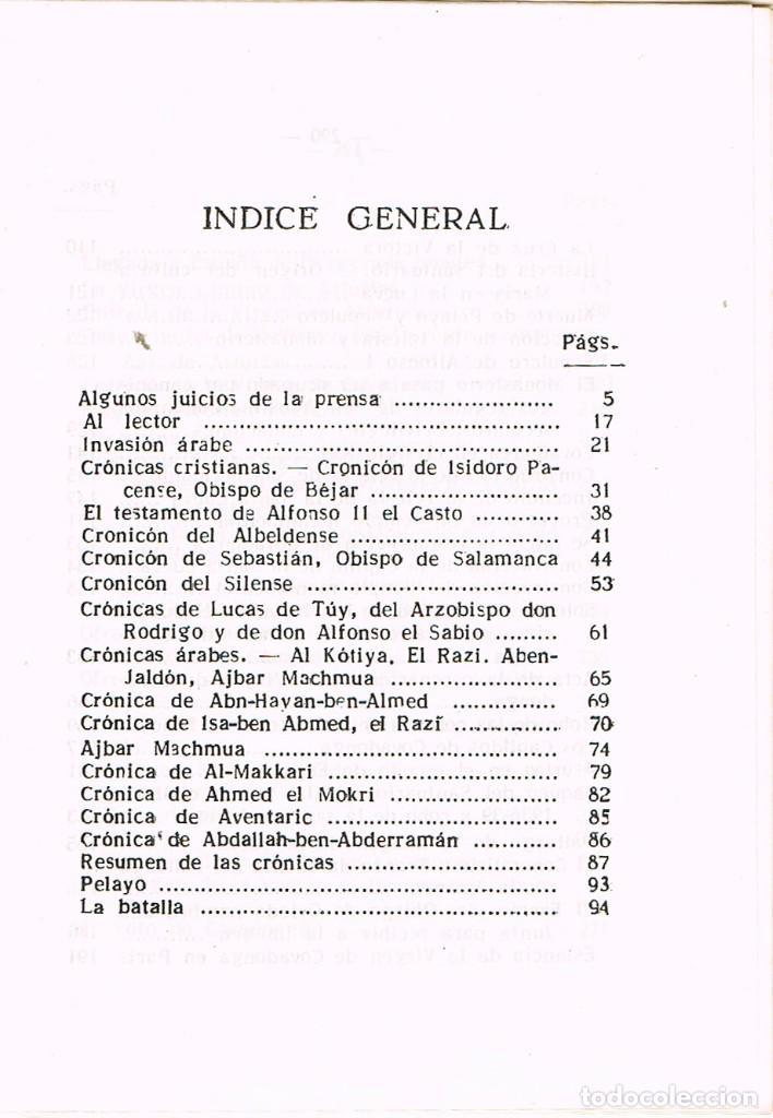 Libros de segunda mano: Historia de Covadonga e historia del santuario (por Luciano López G. José) - Foto 2 - 209937082