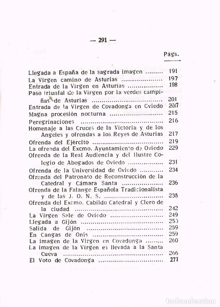 Libros de segunda mano: Historia de Covadonga e historia del santuario (por Luciano López G. José) - Foto 4 - 209937082