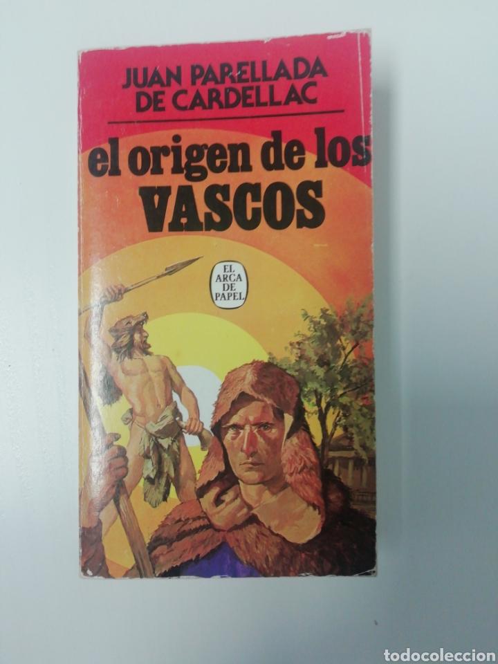 PRIMERA EDICIÓN (EL ORIGEN DE LOS VASCOS) 1980. (Libros de Segunda Mano - Historia Antigua)