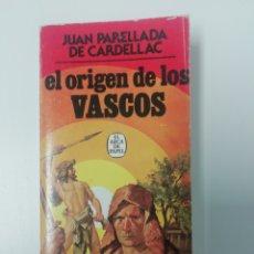 Libros de segunda mano: PRIMERA EDICIÓN (EL ORIGEN DE LOS VASCOS) 1980.. Lote 210161345