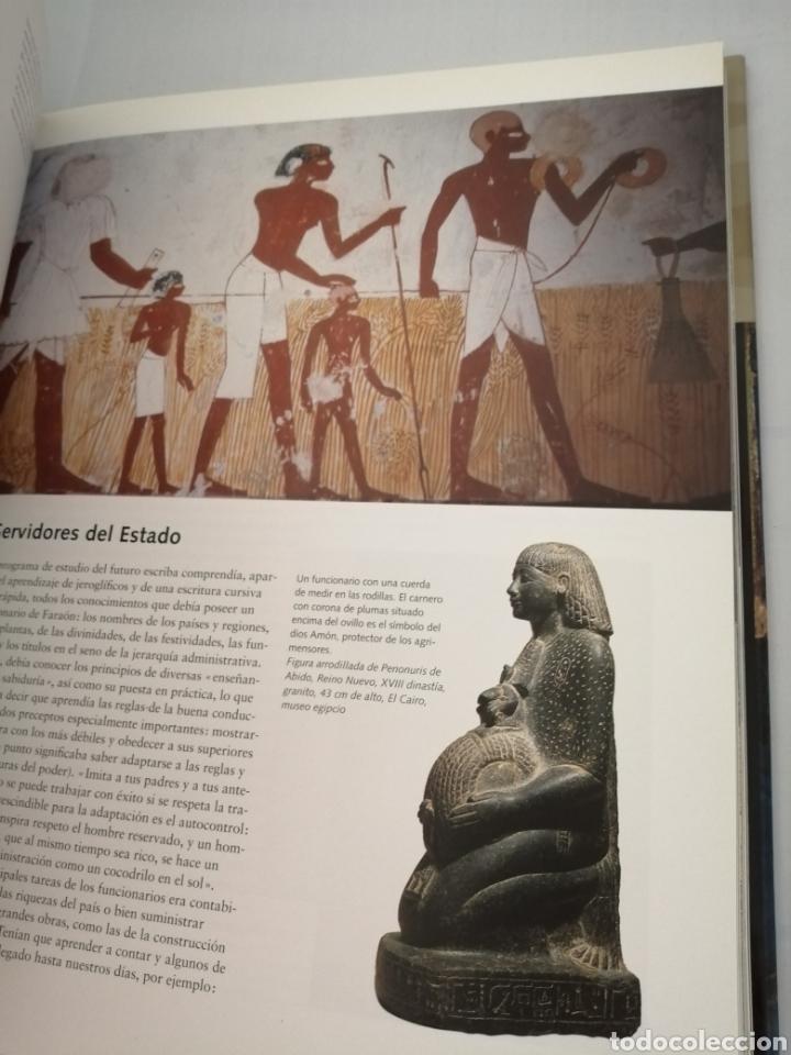 Libros de segunda mano: EGIPTO. Hombres. Dioses. Faraones, - Foto 5 - 210264983
