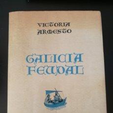 Libros de segunda mano: GALICIA FEUDAL - VICTORIA ARMESTO .GALAXIA 2A ED. 1971 .. Lote 210561433