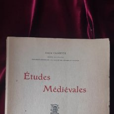 Libros de segunda mano: ÉTUDES MÉDIÉVALES - JOSEPH CALMETTE - ED. EDOUARD PRIVAT 1946. Lote 211704828