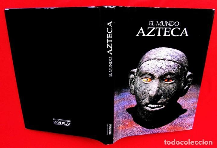 Libros de segunda mano: EL MUNDO AZTECA. 1ª EDICIÓN. AÑO: 1994. MÉXICO. ÚNICO EN TC. BUEN ESTADO. - Foto 2 - 211721914