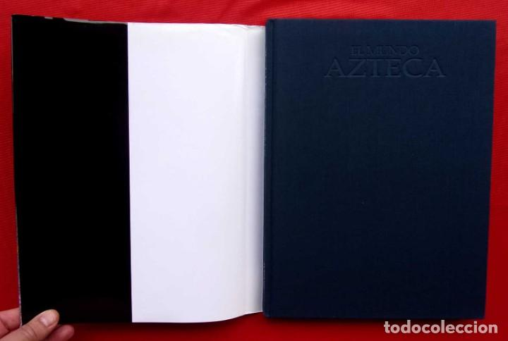 Libros de segunda mano: EL MUNDO AZTECA. 1ª EDICIÓN. AÑO: 1994. MÉXICO. ÚNICO EN TC. BUEN ESTADO. - Foto 3 - 211721914