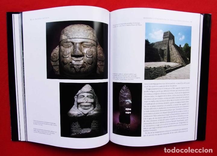 Libros de segunda mano: EL MUNDO AZTECA. 1ª EDICIÓN. AÑO: 1994. MÉXICO. ÚNICO EN TC. BUEN ESTADO. - Foto 5 - 211721914