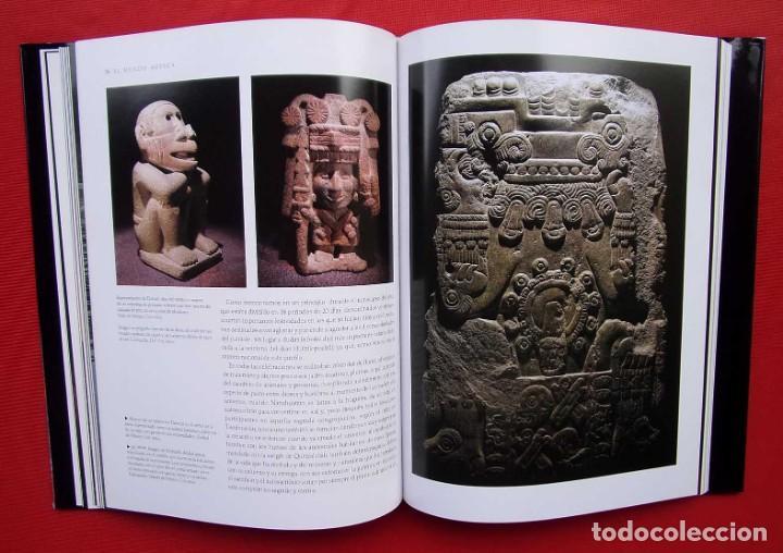 Libros de segunda mano: EL MUNDO AZTECA. 1ª EDICIÓN. AÑO: 1994. MÉXICO. ÚNICO EN TC. BUEN ESTADO. - Foto 8 - 211721914