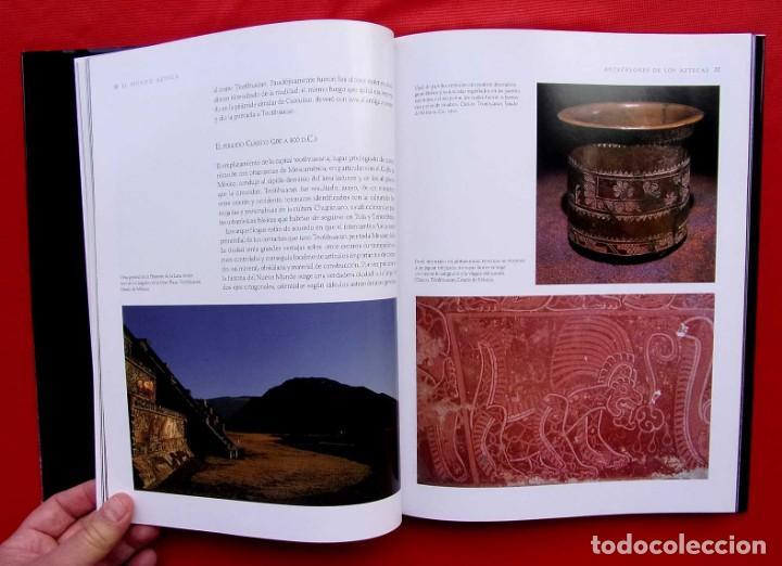 Libros de segunda mano: EL MUNDO AZTECA. 1ª EDICIÓN. AÑO: 1994. MÉXICO. ÚNICO EN TC. BUEN ESTADO. - Foto 9 - 211721914