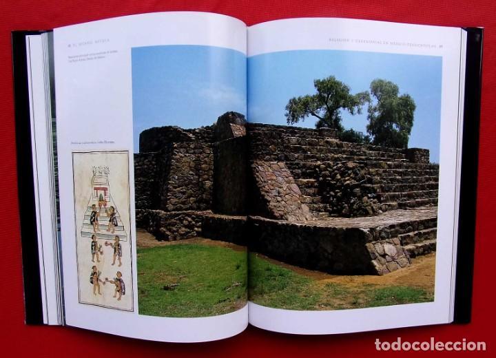Libros de segunda mano: EL MUNDO AZTECA. 1ª EDICIÓN. AÑO: 1994. MÉXICO. ÚNICO EN TC. BUEN ESTADO. - Foto 10 - 211721914