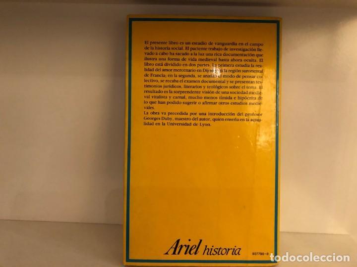 Libros de segunda mano: La prostitución en el Medievo. Jacques Rossiaud. Prólogo George Duby. Ariel. Edad Media - Foto 2 - 211722221