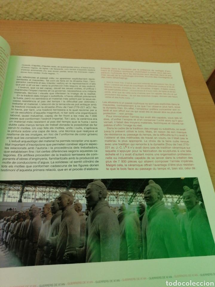Libros de segunda mano: GUERREROS DE XIAN TESOROS DE LAS DINASTÍAS QIN I HAN - Foto 7 - 211729520
