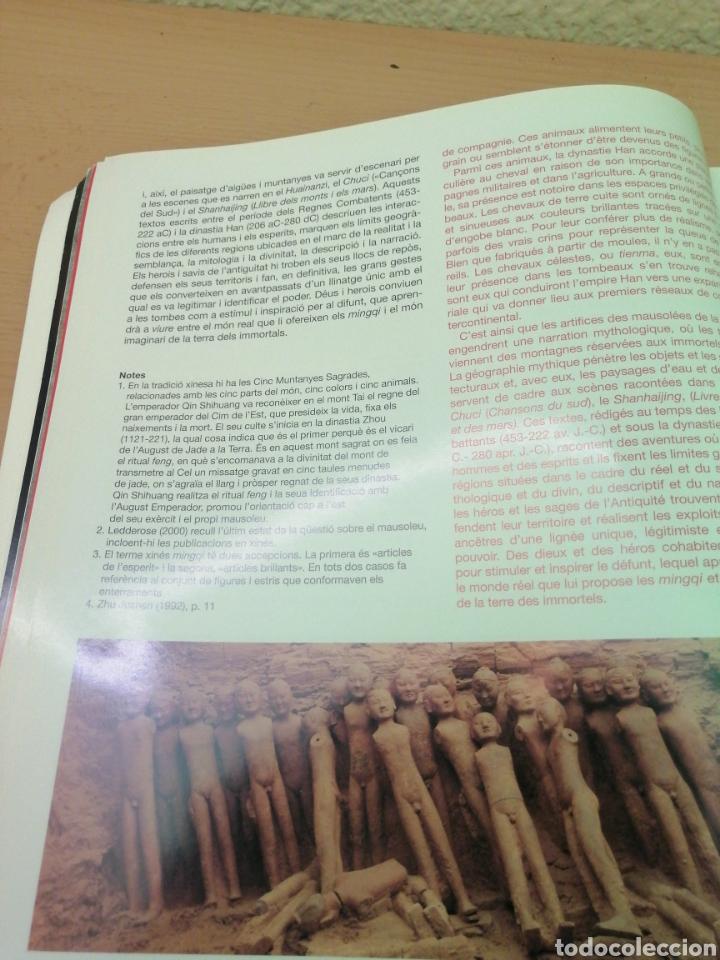 Libros de segunda mano: GUERREROS DE XIAN TESOROS DE LAS DINASTÍAS QIN I HAN - Foto 8 - 211729520