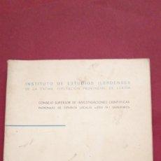 Libros de segunda mano: DOÑA BLANCA DE ARAGON Y DE ANJOU. XVI PRIORA DEL REAL MONASTERIO DE SIJENA. ARRIBAS SALABERRI,. Lote 212107897