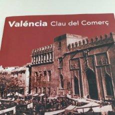 Libros de segunda mano: VALÉNCIA CLAU DEL COMERÇ XXIII JORNADES DELS ESCRITORS. 3 AL 5 DE NOVEMBRE DE 2014 EN VALENCIANO. Lote 213009346