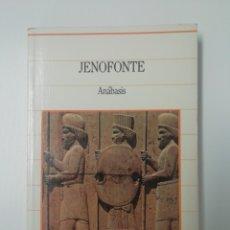 Libros de segunda mano: JENOFONTE... ANÁBASIS, BIBLIOTECA DE LA HISTORIA 1985.. Lote 213206876