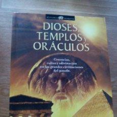 Libros de segunda mano: DIOSES, TEMPLOS Y ORÁCULOS. FRANCISCO JOSÉ GOMEZ. Lote 212161007