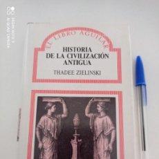 Libros de segunda mano: HISTORIA DE LA CIVILIZACIÓN ANTIGUA, EL LIBRO AGUILAR, 1987. Lote 214267502
