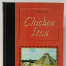 Libros de segunda mano: LMV - GUY ANNEQUIN. CHICHEN ITZA. EDITIONS FAMOT. GENEVE. 1980. TEXTO EN FRANCES. Lote 214277023