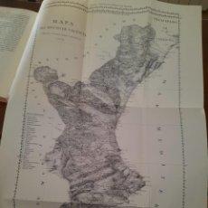 Libros de segunda mano: OBSERVACIONES SOBRE LA HISTORIA NATURAL GEOGRAFÍA, AGRICULTURA REYNO VALENCIA FACSIMIL 1985 MAPA. Lote 214556702
