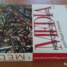 Livros em segunda mão: HISTORIA DE LA EDAD MEDIA - JUAN REGLA CAMPISTOL - ** - MONTANER Y SIMON ZZ106. Lote 215095067