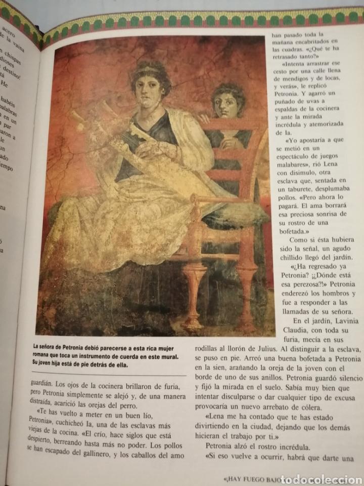 Libros de segunda mano: Los secretos del Vesubio (Primera edición) - Foto 10 - 215696507