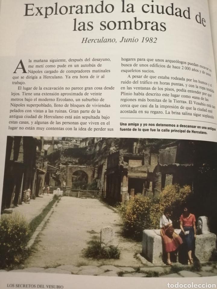 Libros de segunda mano: Los secretos del Vesubio (Primera edición) - Foto 12 - 215696507