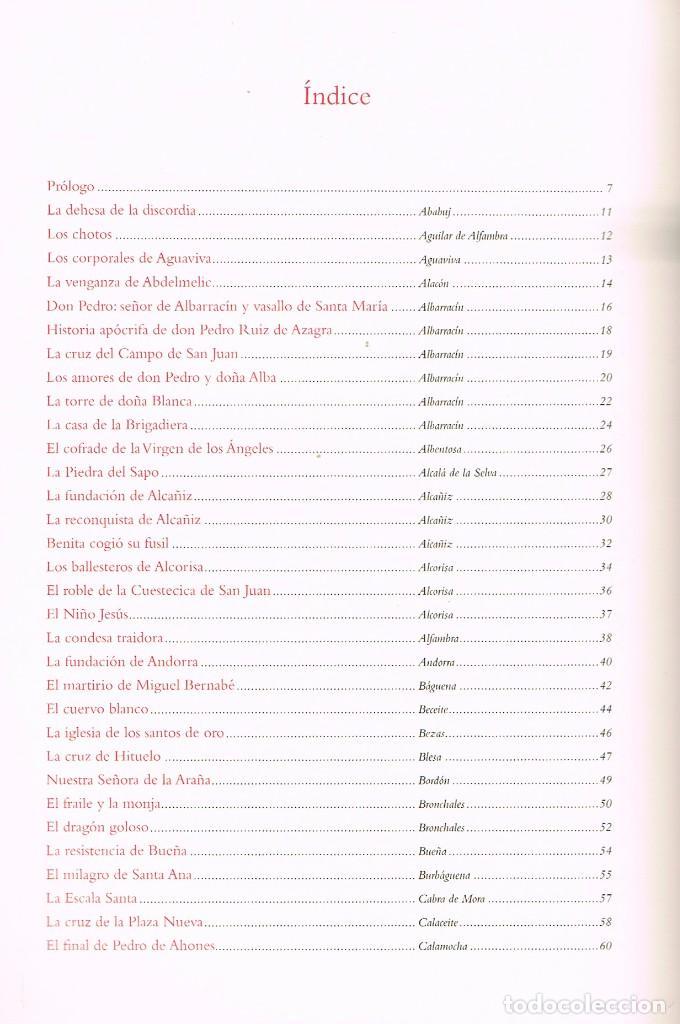 Libros de segunda mano: Bardo de la memoria, El mitos leyendas y narraciones de Teruel, Ver indice e ilustracionde MP Polo C - Foto 3 - 217102831