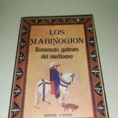 Libros de segunda mano: LOS MABINOGION, ROMANCES GALESES DEL MEDIEVO.. Lote 217166387