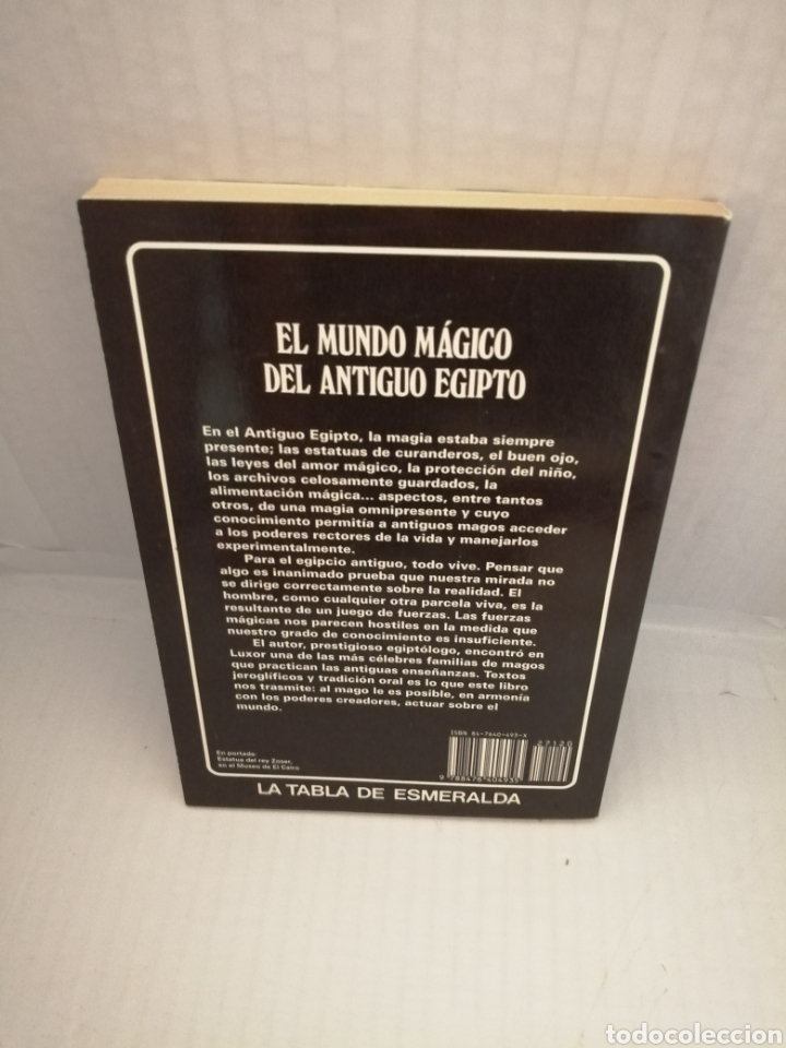 Libros de segunda mano: EL MUNDO MAGICO DEL ANTIGUO EGIPTO. - Foto 2 - 217301018