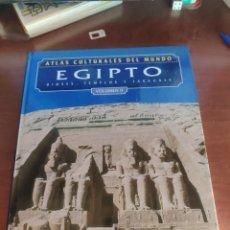 Libros de segunda mano: ATLAS CULTURALES DEL MUNDO EGIPTO VOLUMEN 2. Lote 217624842