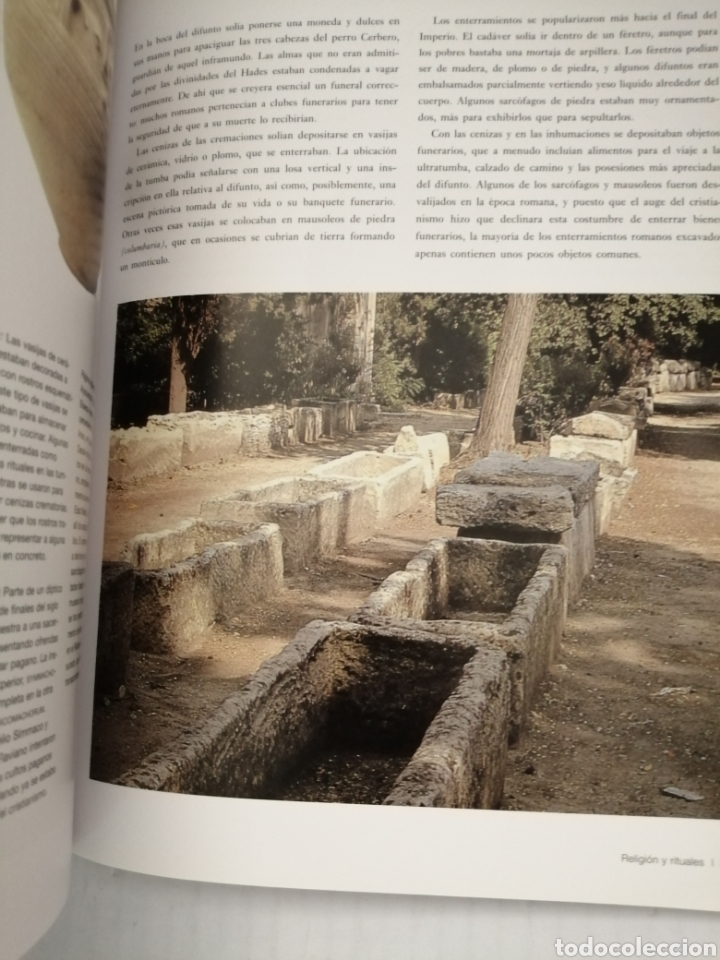 Libros de segunda mano: Los Romanos. Cultura y mitología - Foto 5 - 217594907