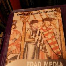 Libros de segunda mano: MANUAL DE HISTORIA UNIVERSAL V EDAD MEDIA EDICIONES NÁJERA. Lote 217748181