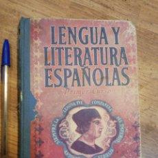 Libros de segunda mano: LIBRO HISTORIA Y LITERATURA 1950.. Lote 218141178