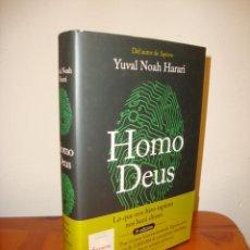 Libros de segunda mano: HOMO DEUS - YUVAL NOAH HARARI - DEBATE, MUY BUEN ESTADO, TAPA DURA. Lote 218343707