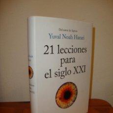 Libros de segunda mano: 21 LECCIONES PARA EL SIGLO XXI - YUVAL NOAH HARARI - DEBATE, MUY BUEN ESTADO, TAPA DURA. Lote 218343892