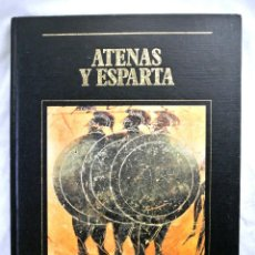 Libros de segunda mano: LIBRO LOS GRANDES IMPERIOS DE LA CIVILIZACION, VOL. 2 ATENAS Y ESPARTA, SARPE, 1985. Lote 218589710