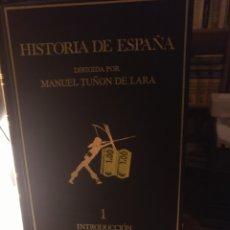 Libros de segunda mano: MANUEL TUÑÓN. HISTORIA DE ESPAÑA 1. LABOR. Lote 218940417