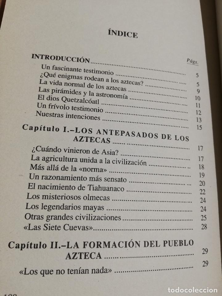 Libros de segunda mano: LOS AZTECAS (MANUEL YÁÑEZ SOLANA) - Foto 3 - 219228522