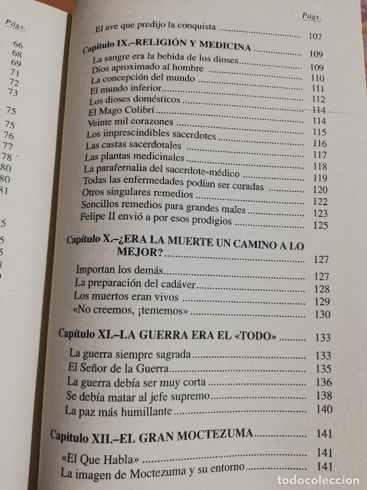 Libros de segunda mano: LOS AZTECAS (MANUEL YÁÑEZ SOLANA) - Foto 6 - 219228522