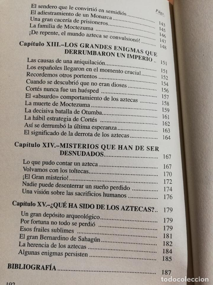 Libros de segunda mano: LOS AZTECAS (MANUEL YÁÑEZ SOLANA) - Foto 7 - 219228522
