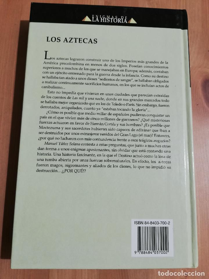 Libros de segunda mano: LOS AZTECAS (MANUEL YÁÑEZ SOLANA) - Foto 8 - 219228522